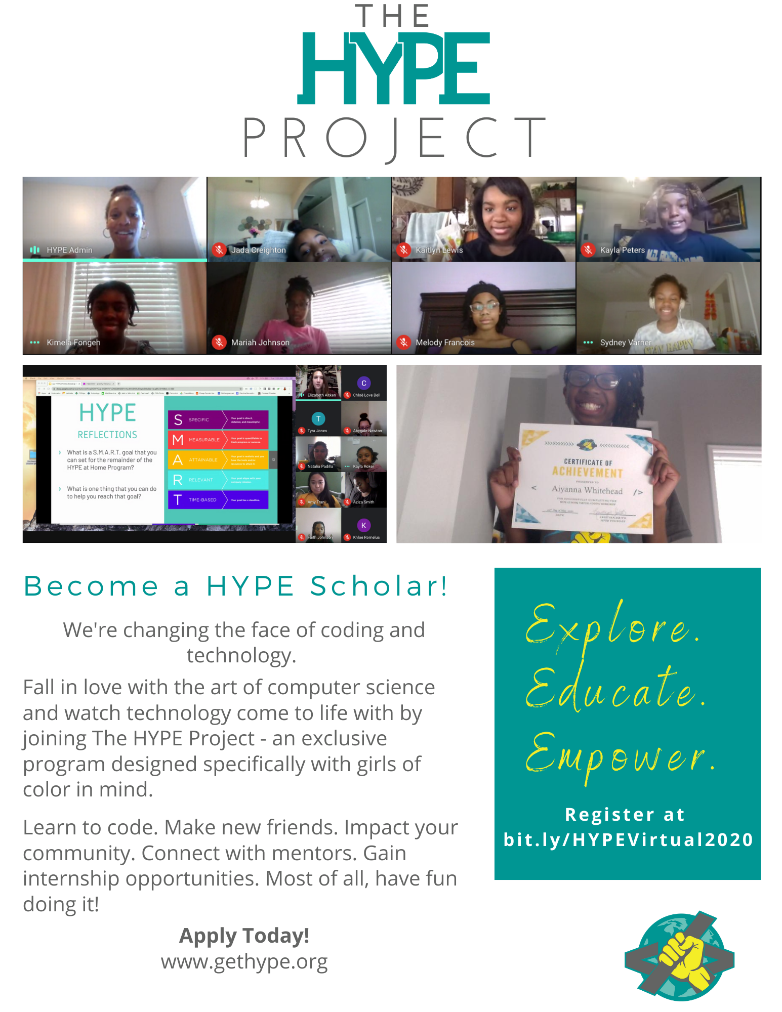HYPE Project Recruitment Flyer