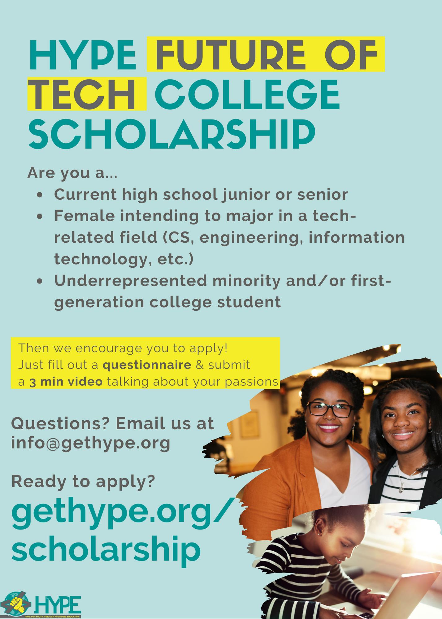 HYPE Scholarship (1)