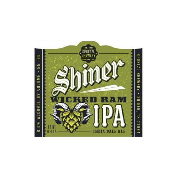 Shiner Wicked Ram IPA
