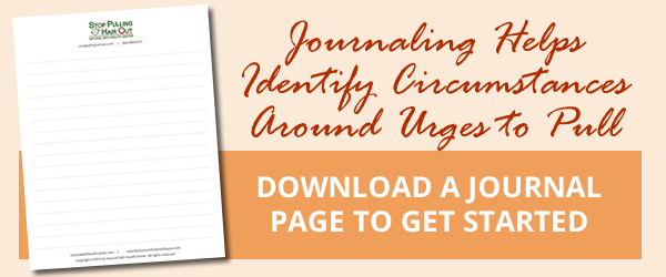 Download a journal page to help identify your urges to pull