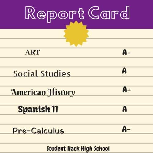 Degree Audit - Report Card