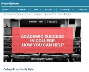 college academic success