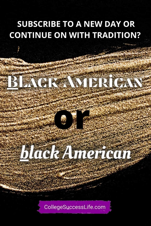 Black American