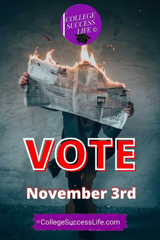 Vote, November 3rd