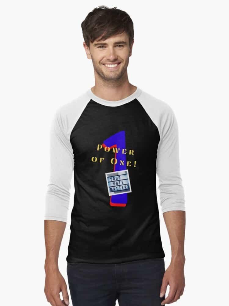 College student Baseball-¾-sleeve-t-shirt
