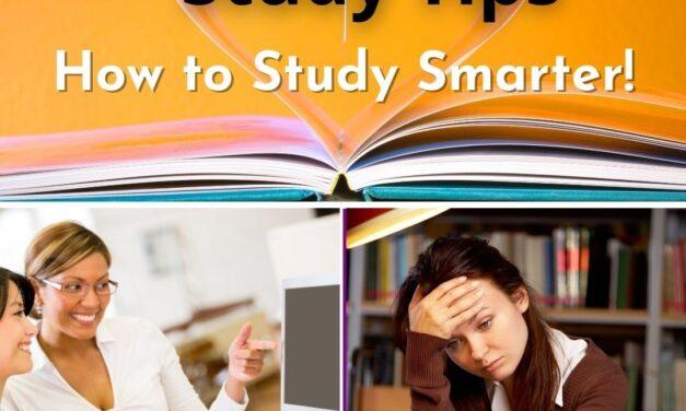 College Success Life Smart Study Tips