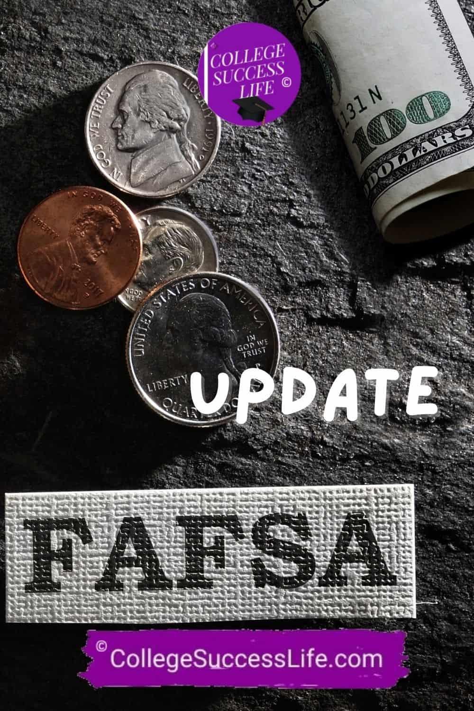College Success Life FAFSA Update
