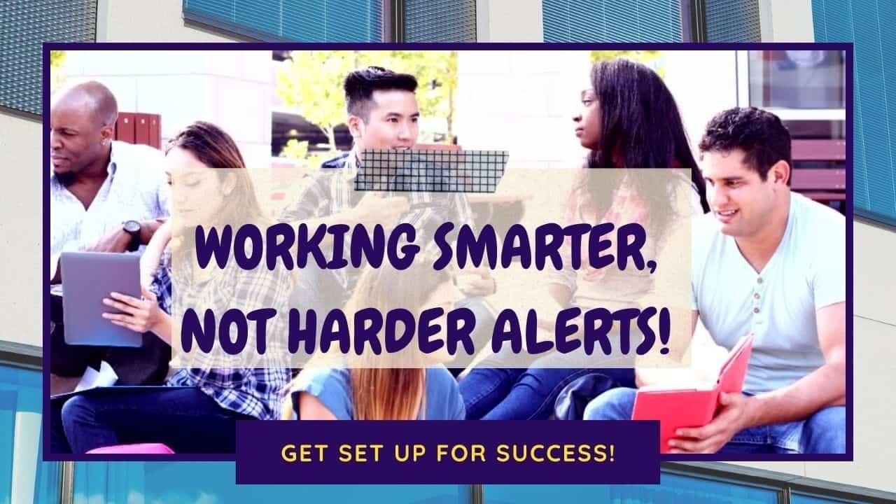 college success life alert updates
