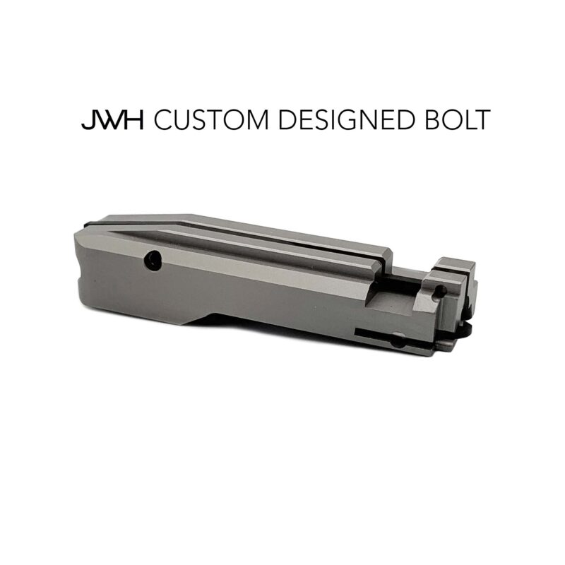 jwh custom ruger 10/22 cnc bolt custom designed front view