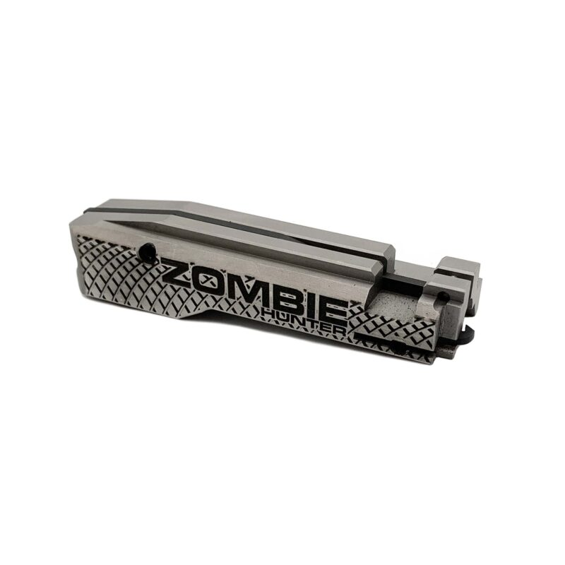 jwh custom ruger 10/22 bolt zombie hunter scalloped front view