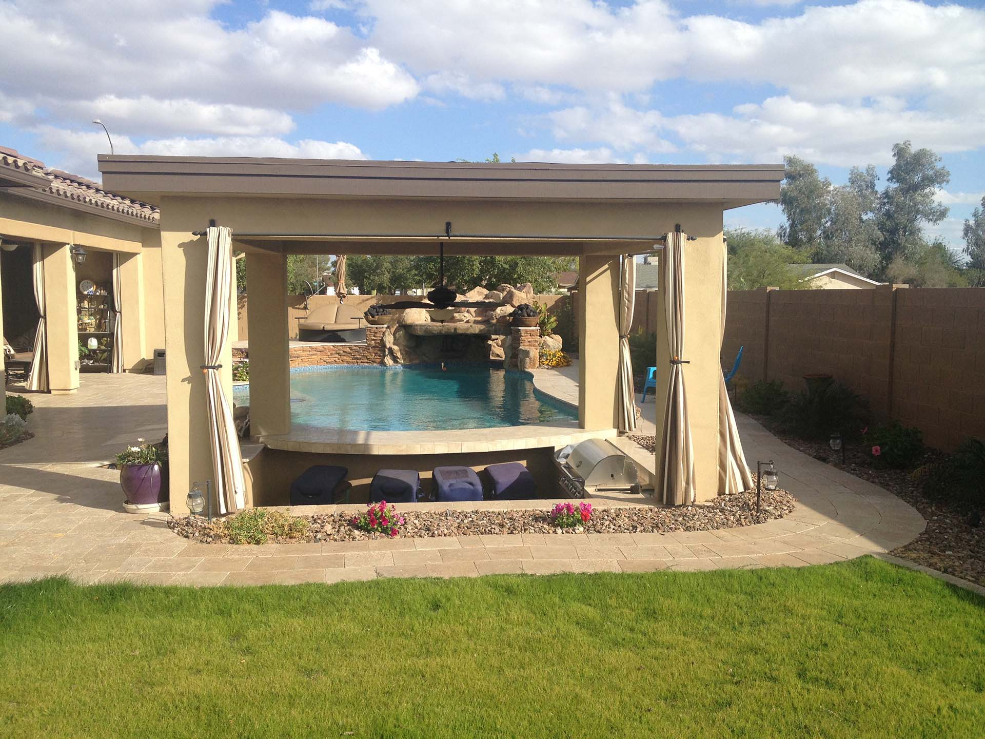 Creating A Functional And Fun Backyard Space With AZ Pool Builders