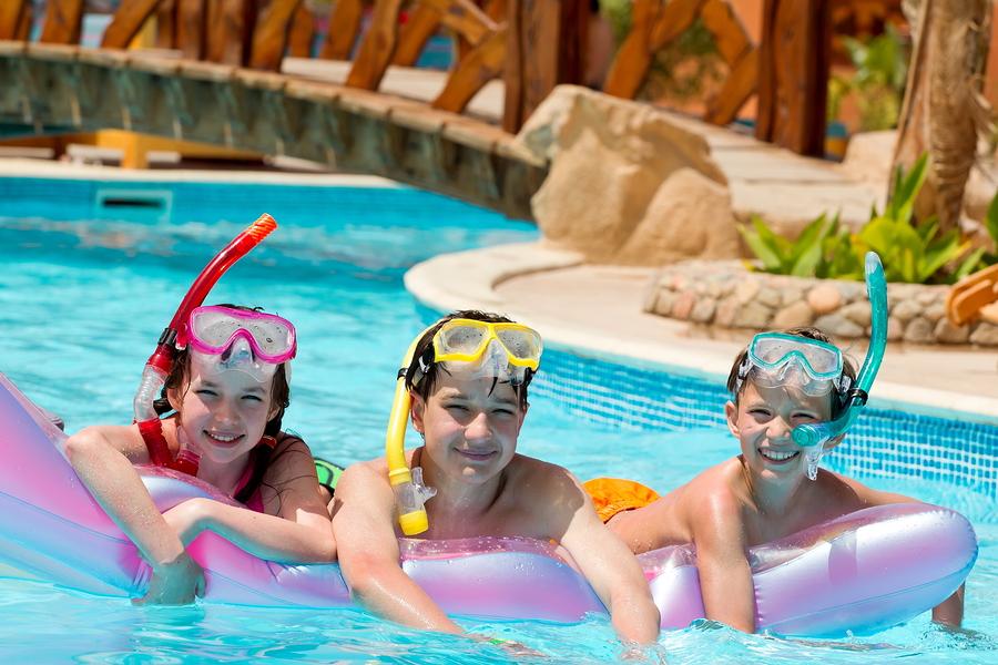 How Swimming Pools Help To Build Healthy Kids - Arizona Pool Builders