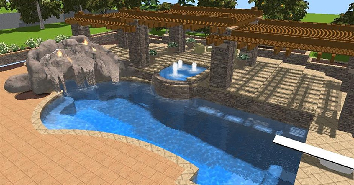 Finding The Perfect Layout for Your Backyard Pool