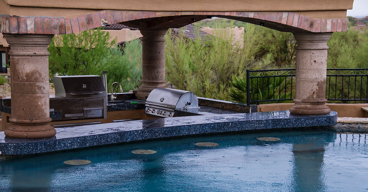 5 Reason Why Granite is Perfect for an Outdoor Kitchen
