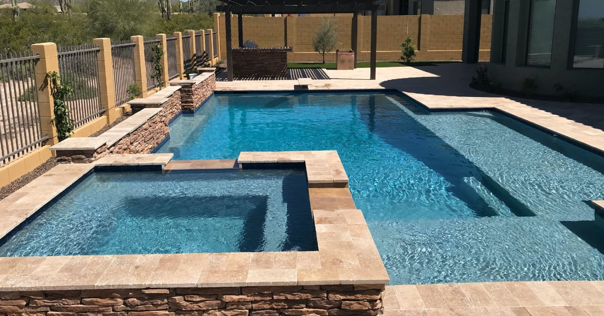 Chandler AZ Pool Builder, No Limit Pools Delivers Incredible Results in Chandler, AZ