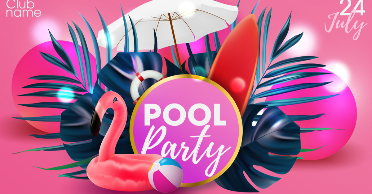 Night Pool Party Ideas For Adults