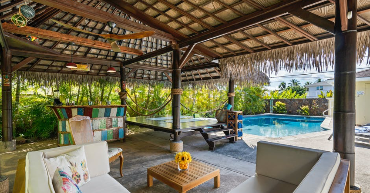 Tropical Backyard Ideas for an Arizona Poolside Paradise