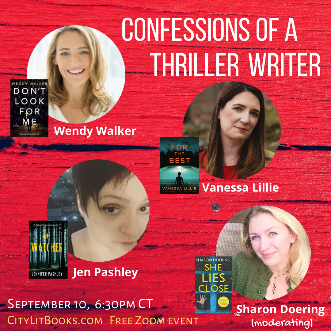 Join me for an author conversation!