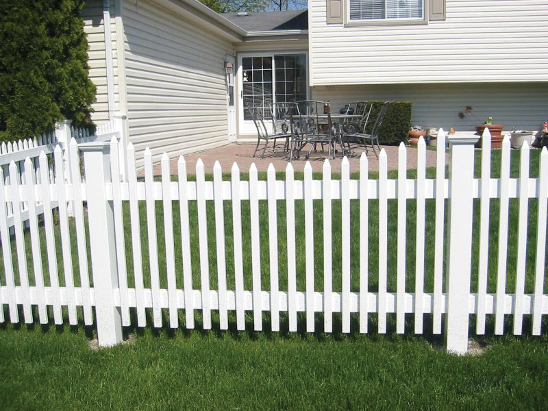 PVC/Vinyl Fencing Product Examples