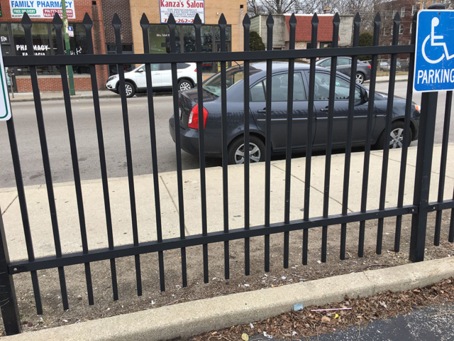 S-006 - Steel Fence
