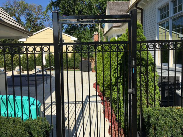 S-017 - Steel Fence and Gate