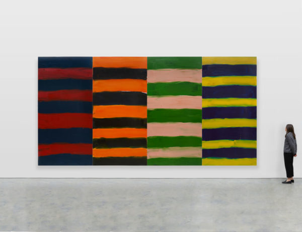 Sean Scully. Foto: Lisson Gallery