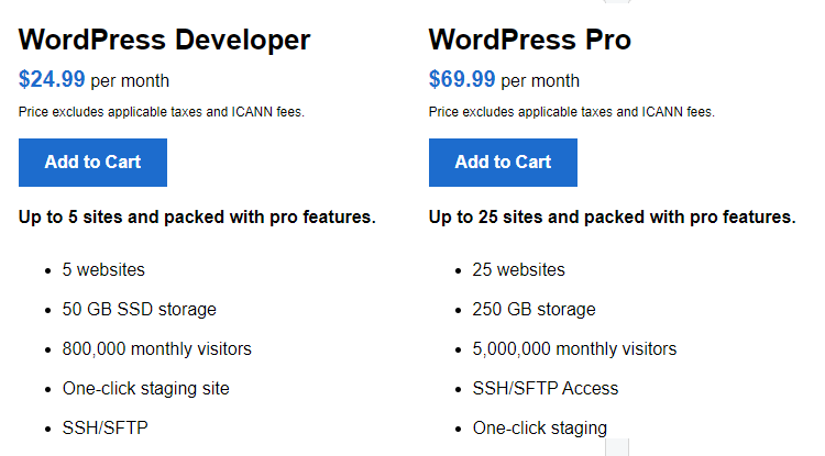 WordPress Developer and WordPress Pro Hosting