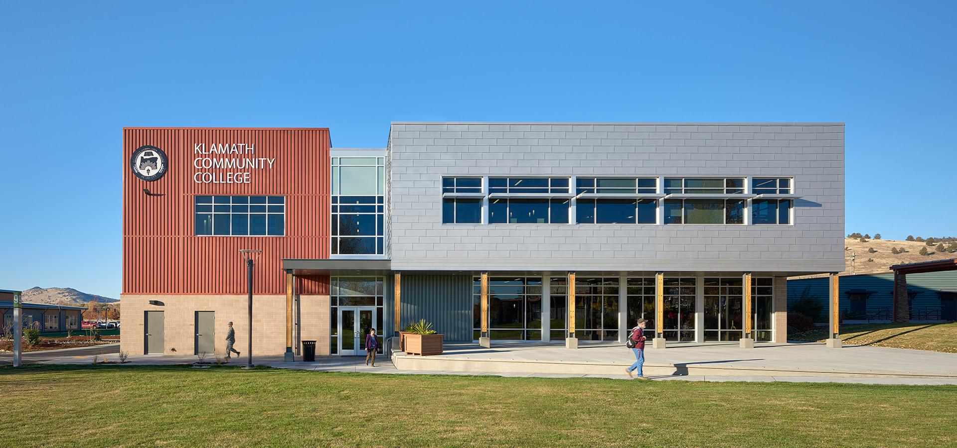 Klamath Community College exterior