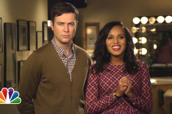 Nielsen: #KerryWashington's #SNL episode was  #1 Non-sports show, 2nd highest-rated SNL show for season