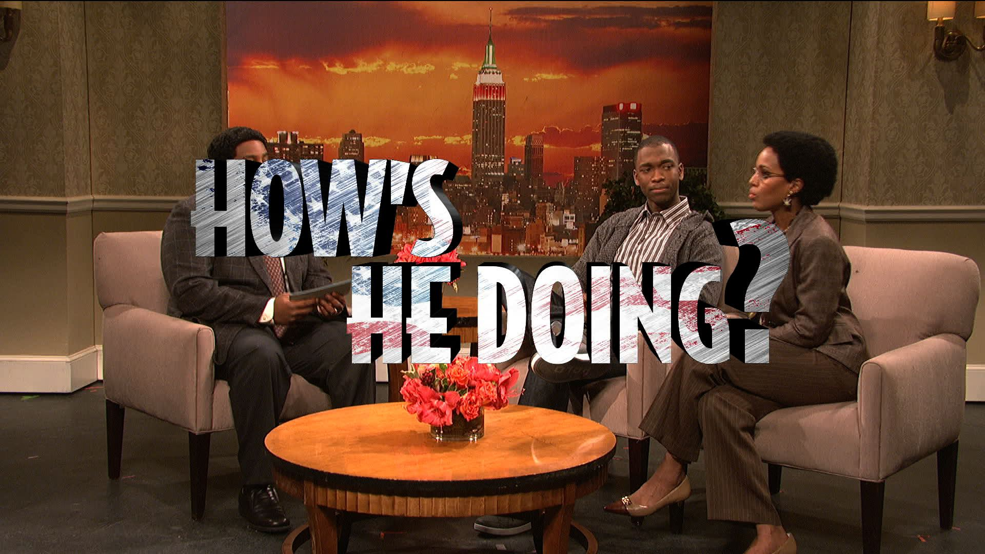 Kerry Washington on SNL: On African Americans' unconditional high Obama approval rating