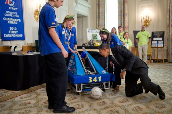 Watch the White House Girls-Focused Science Fair LIVE (VIDEO)!