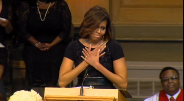 Michelle Obama's Maya Angelou Memorial Service Eulogy (TRANSCRIPT & VIDEO)
