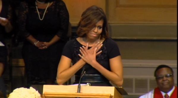 Michelle Obama's Maya Angelou Memorial Service Eulogy (TRANSCRIPT & VIDEO)