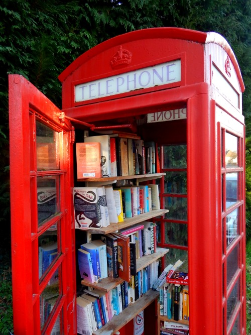 Old is New Again: 20 Upcycled Telephone Booths
