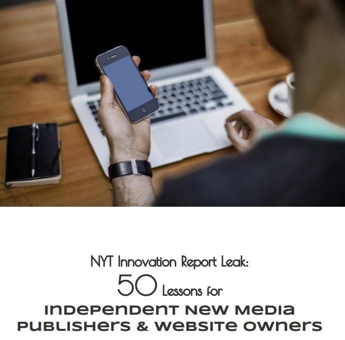 50 Tips for New Media & Independent Publishers  (FREE DOWNLOAD)