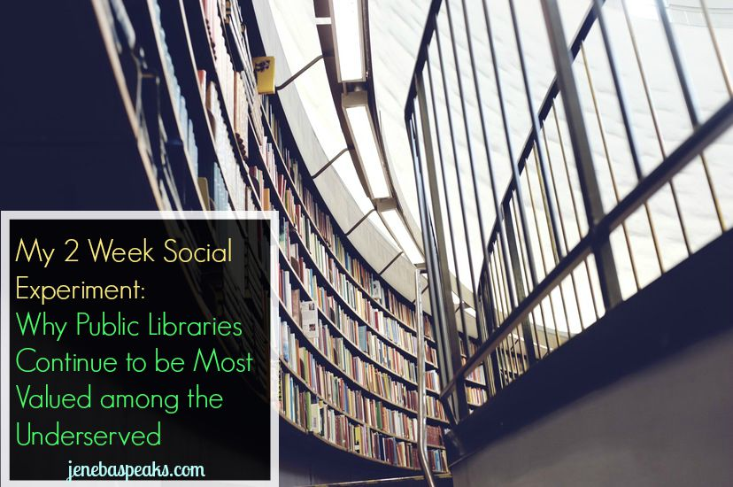 How Libraries are Crucial to Underserved Population w/out In-Home Broadband