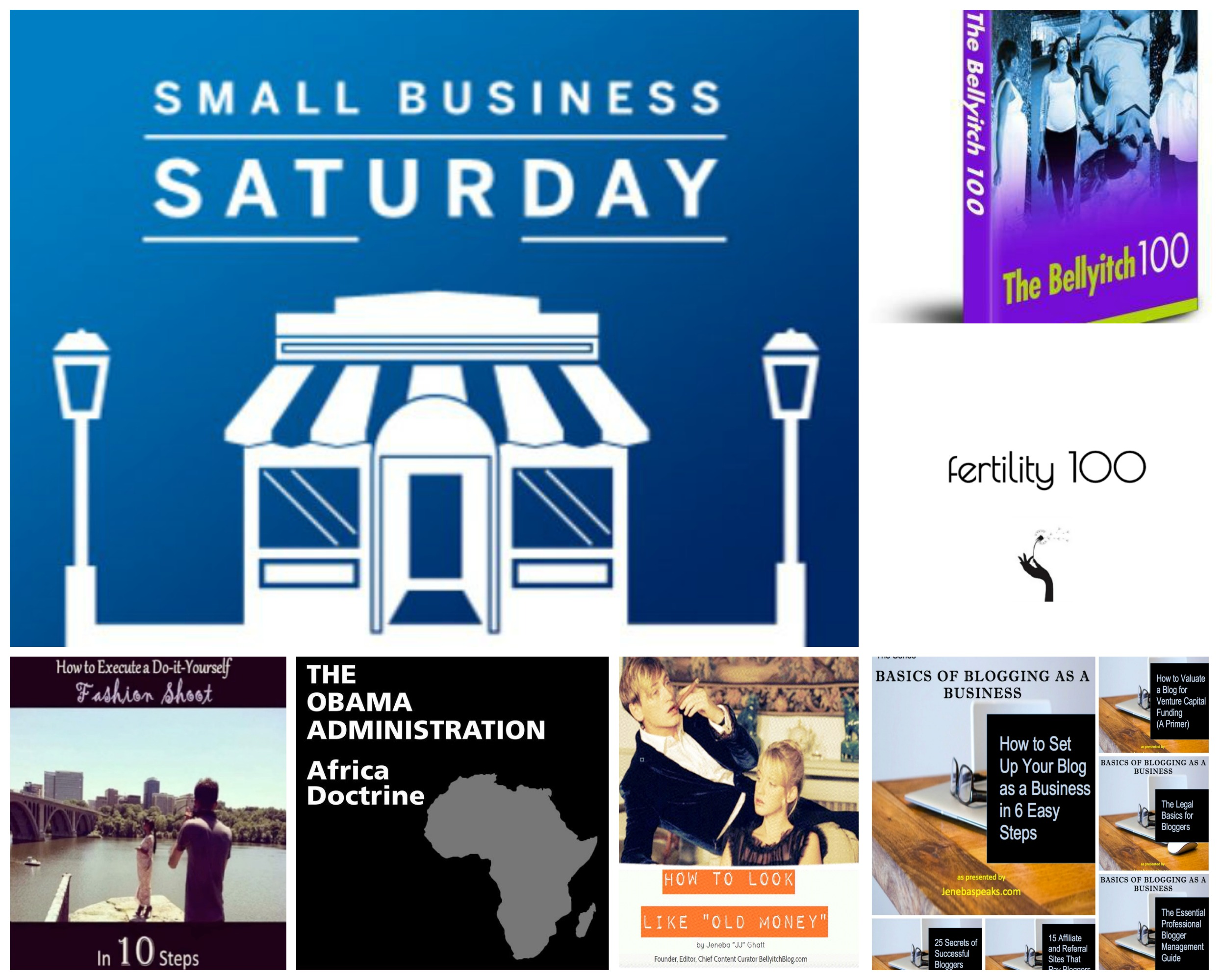 Small Business Saturday Special: All 11 eBooks I've Authored, FREE & On SALE