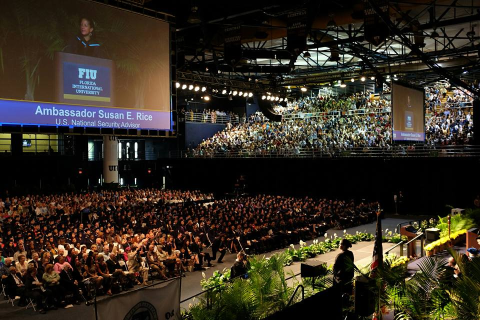 Susan Rice Defends the Value of 'Diversity' in Commencement Address to International and Public Affairs Grads