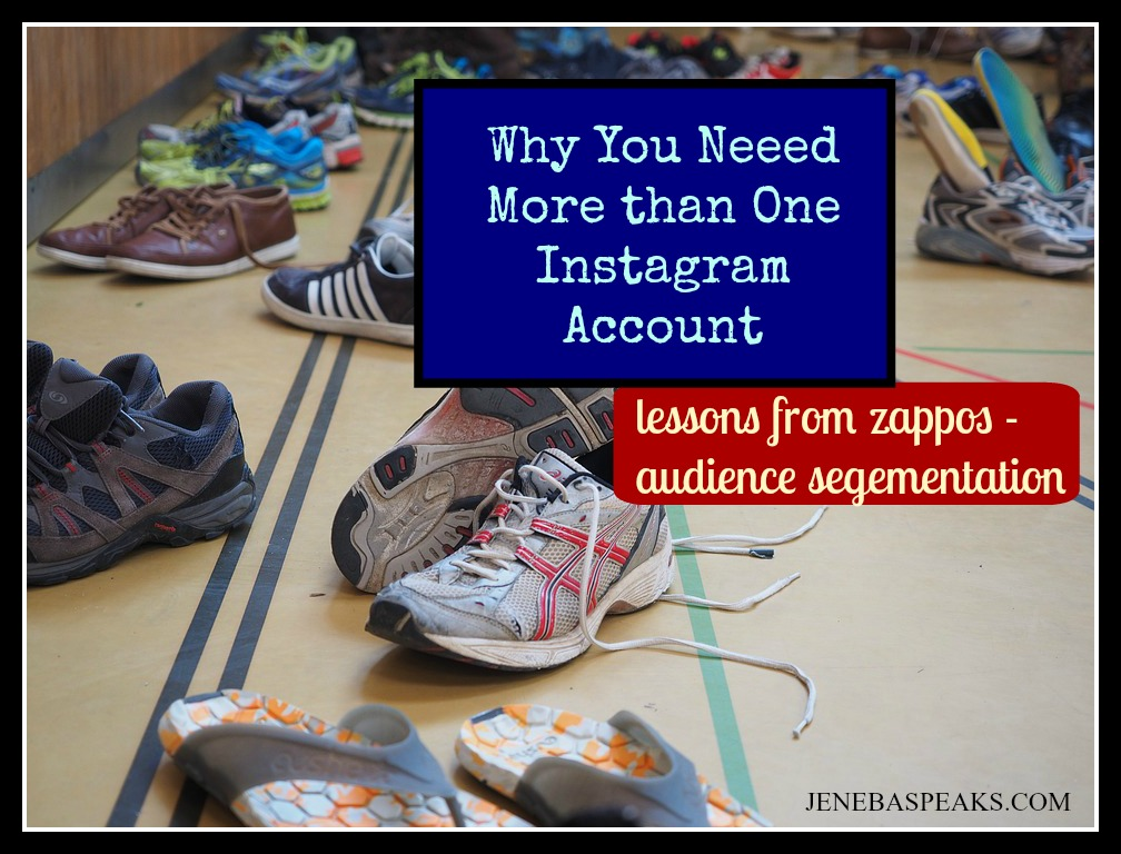 Social Media Branding; Why You Need More Than One Instagram Account