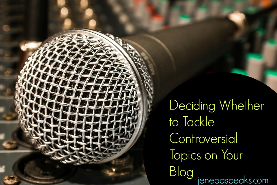 Fear of Audience Alienation: When to Tackle Controversial Topics on Your Blog (PODCAST)