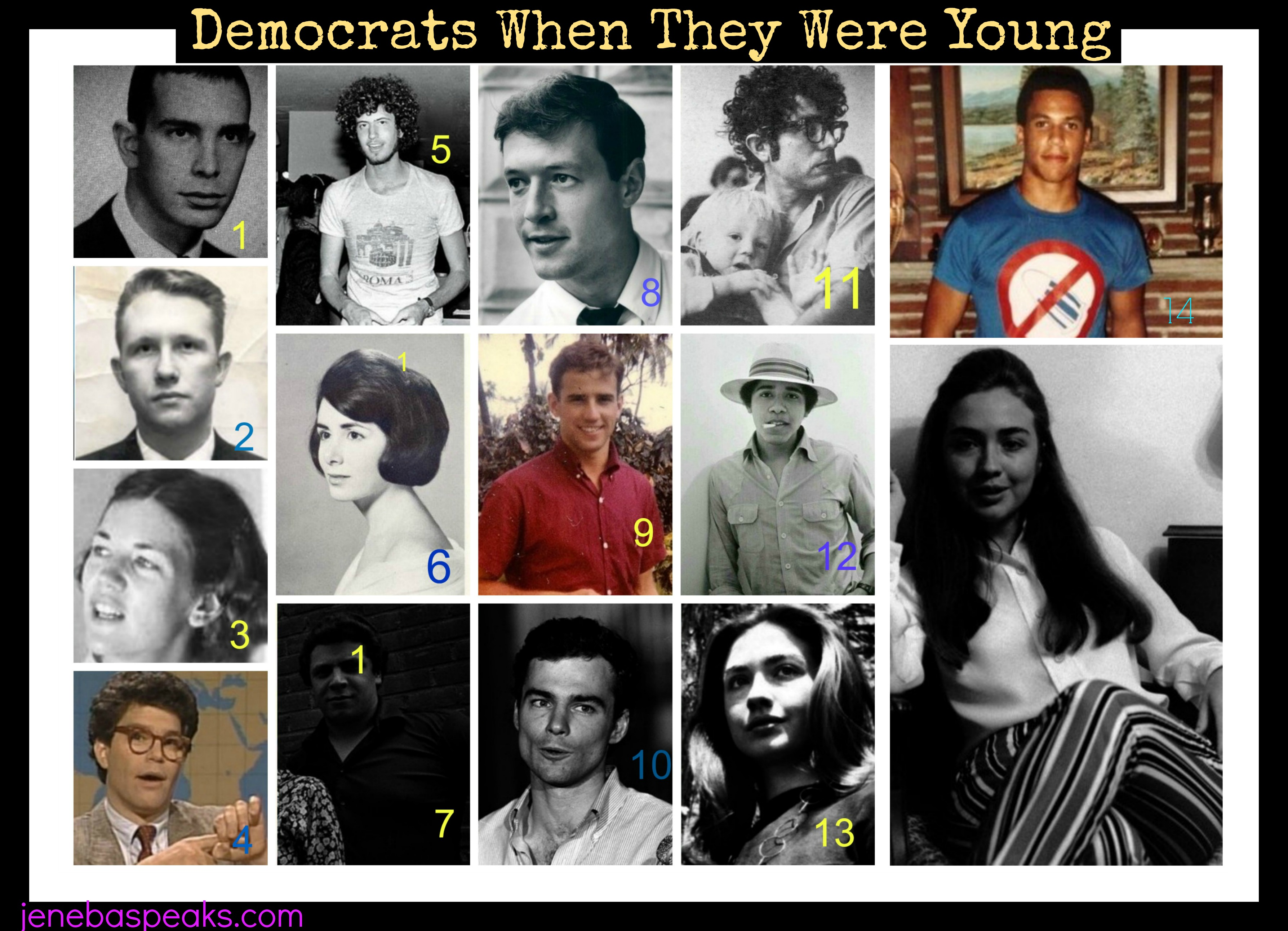 How Many of These Politicians When Young Can you Identify? (QUIZ)