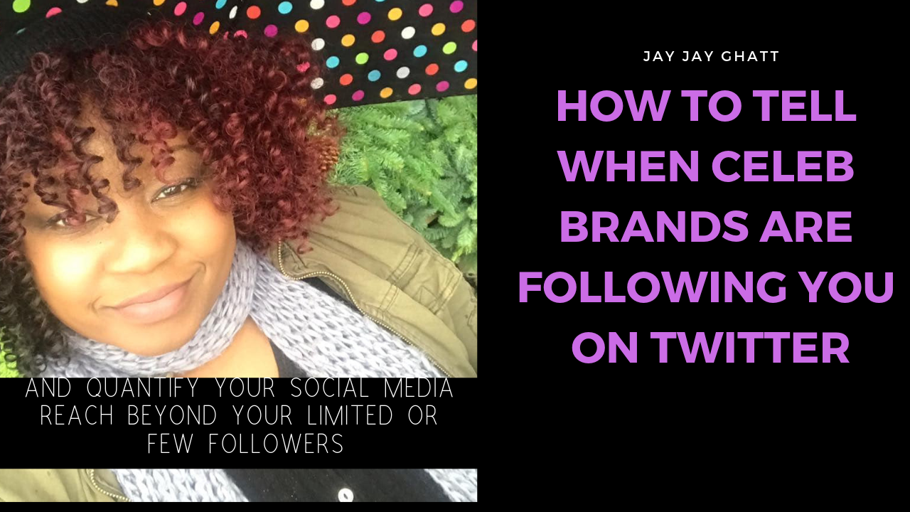 Want to Know Which Big Brands Follow You On Twitter to Quantify Your Potential Reach?