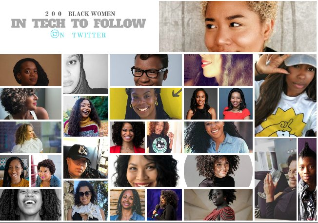 The 2018 List of Black Women in Tech To Follow On Twitter is Up…FINALLY! Why it Took so long….