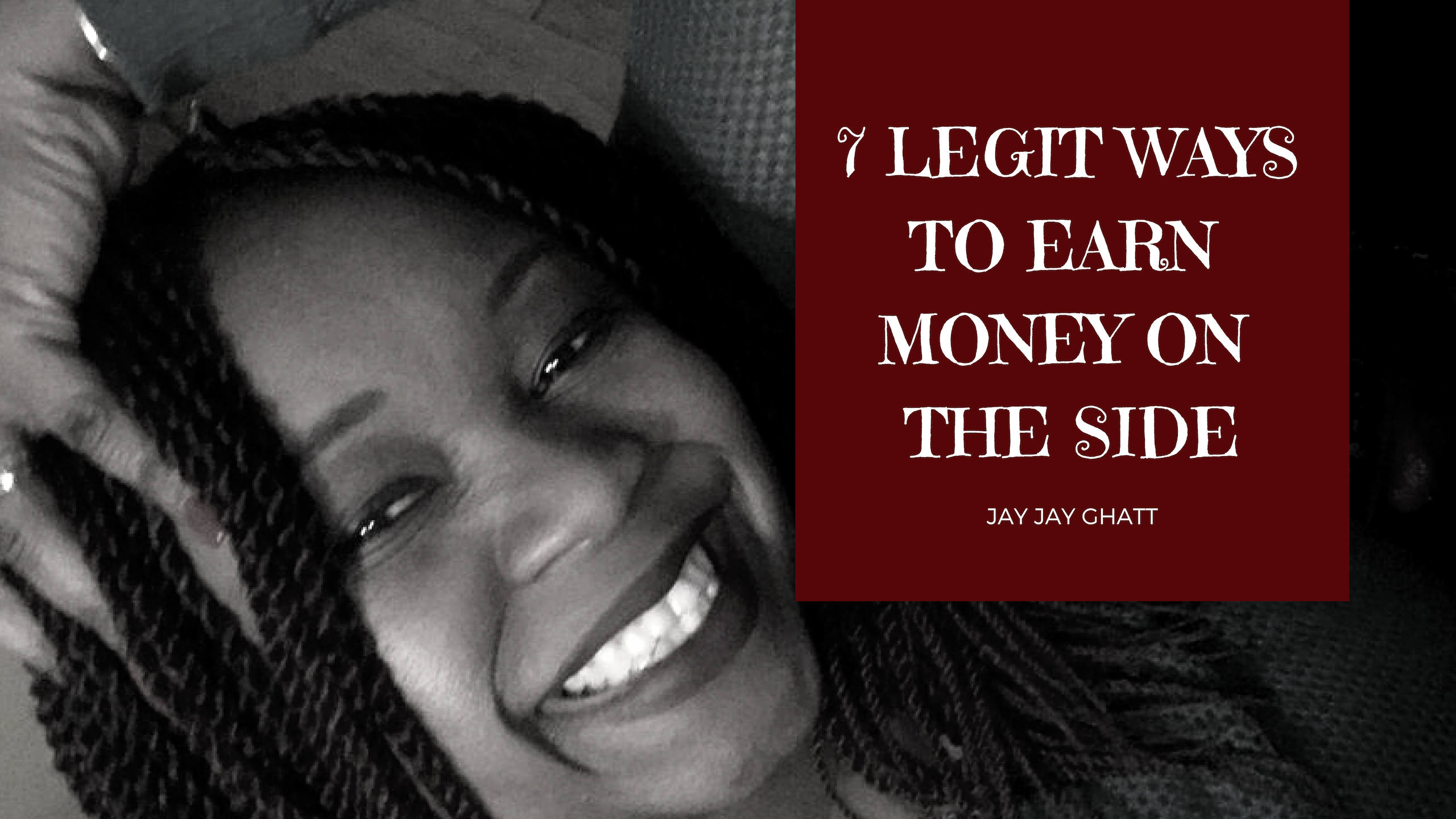 Just Released: 7 Legit Ways to Earn Money On the Side {Video}