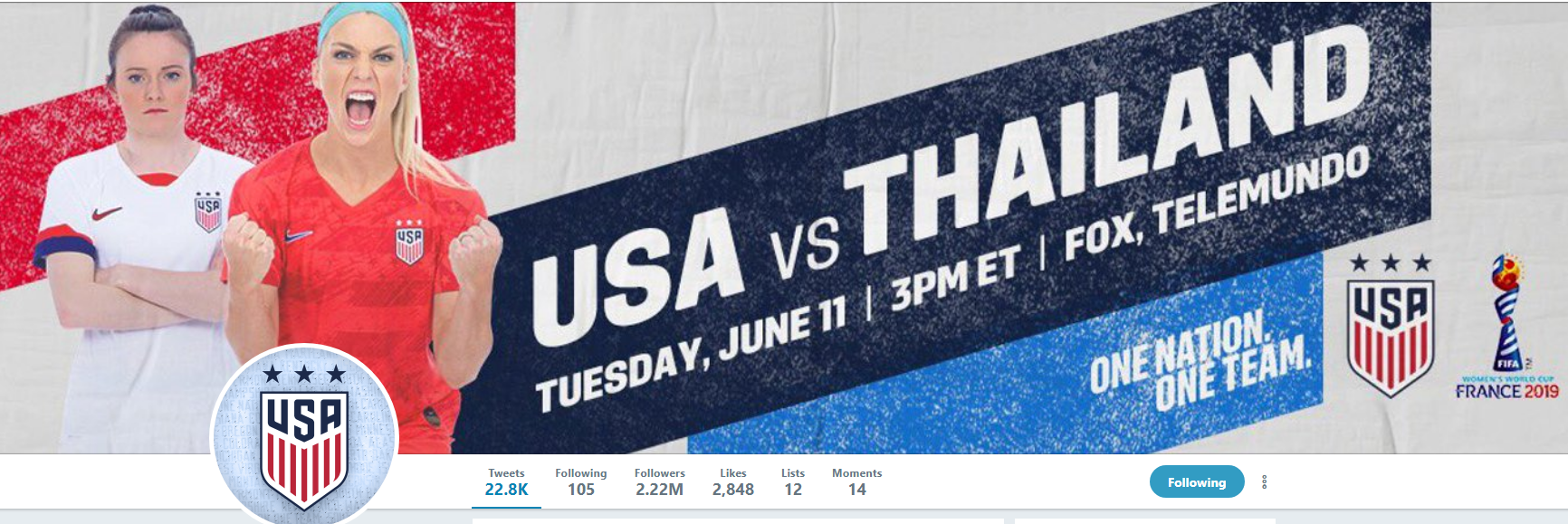 What the #OneNationOneTeam US Women's FIFA World Cup Campaign Can Teach Us About Solidarity, Parity and Marketing