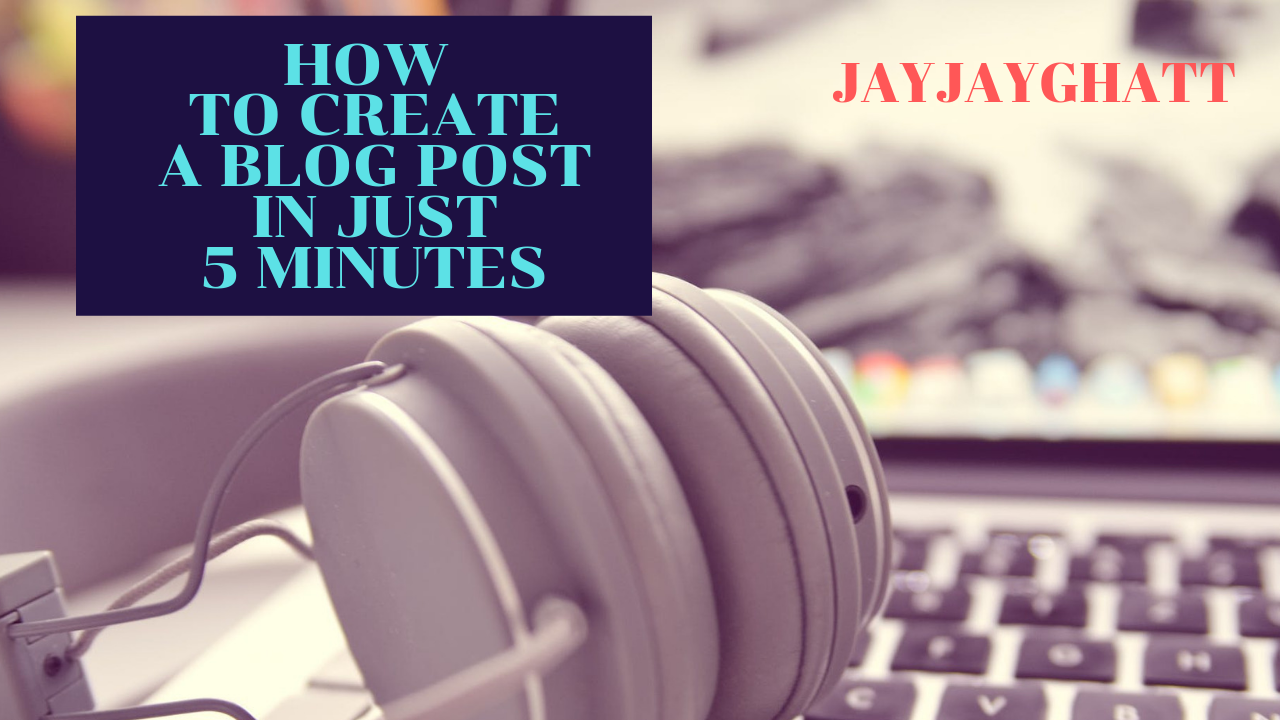 Blog Full Time But Spend Just 5 Hours Weekly Doing It {VIDEO TUTORIAL}