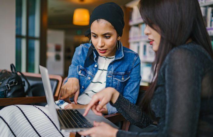 two women in tech