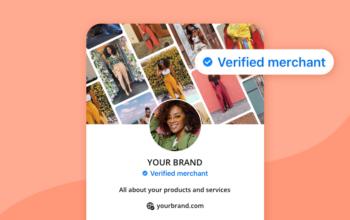 verified merchant program graphic