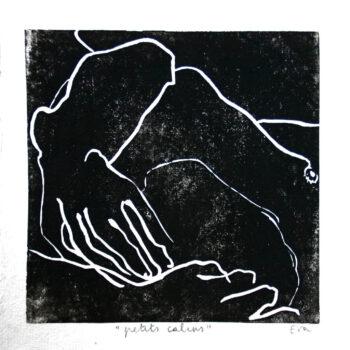eva claessens - petits calins - 2010 - 20 x 20 cm - mixed media
