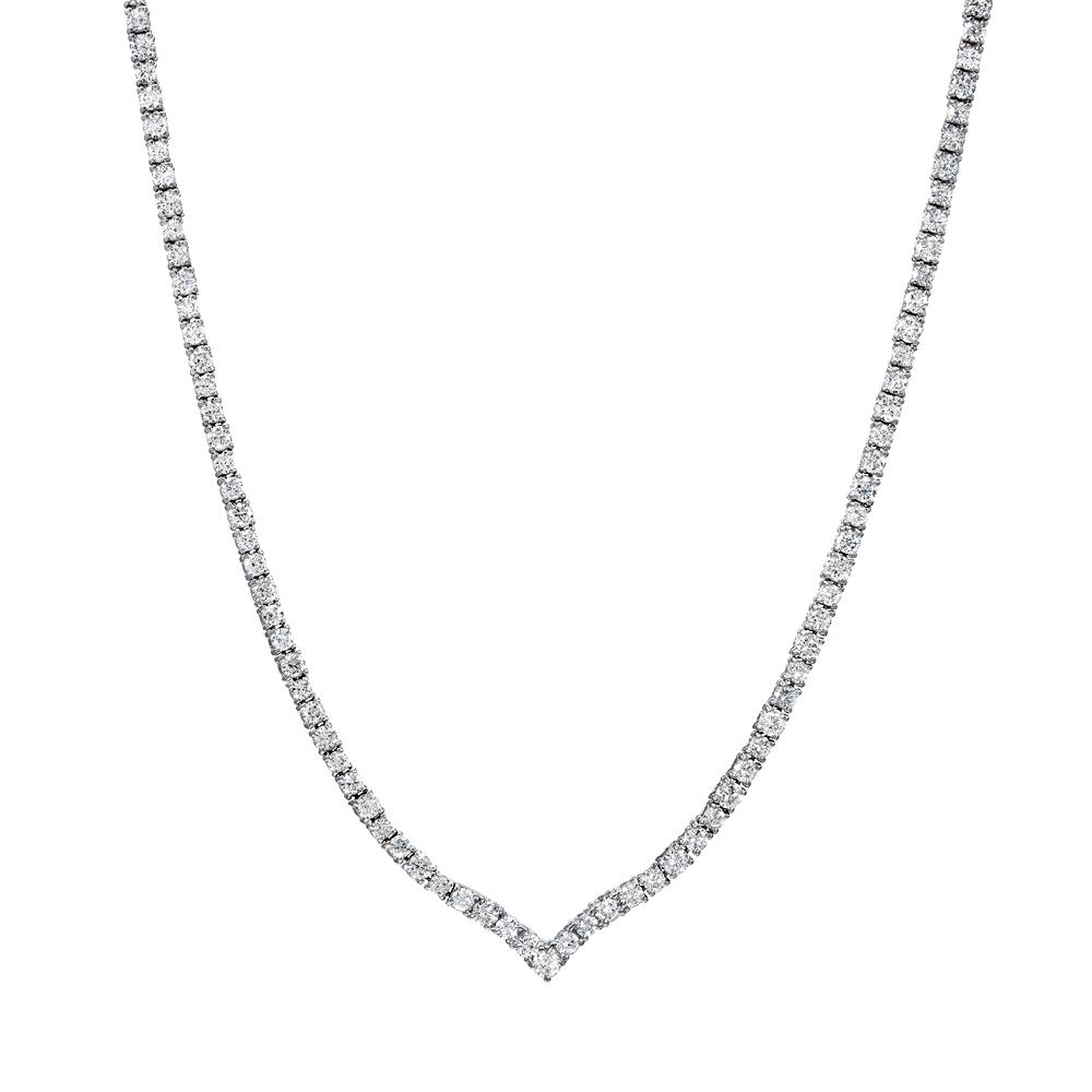 Collar Tennis Diamond Necklace